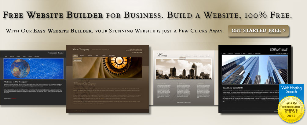 Template Website Builder. create your own website how to make a ...