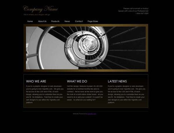 business website creator for new business website