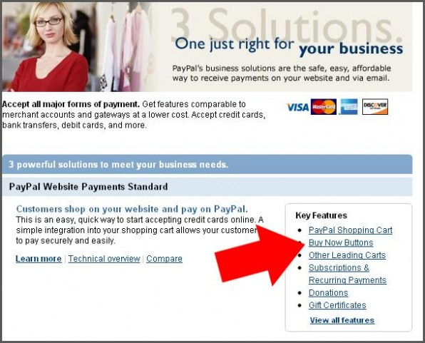 How to add paypal to website