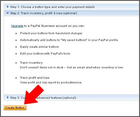 Add paypal to your website